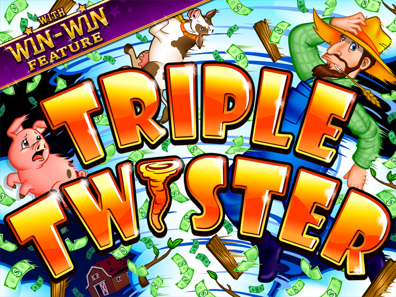 Triple Twister Video Slot